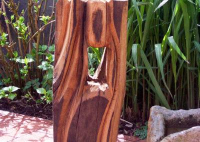 Stele-Eichenfachwerk